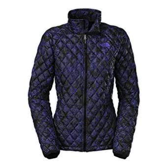Buy The North Face Thermoball Full Zip Jacket Ladies TNF Black Night Dew Print L by The North Face