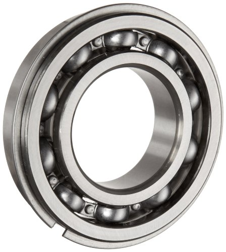 NSK 6207NR Deep Groove Ball Bearing, Single Row, Open, Snap Ring, Pressed Steel Cage, Normal Clearance, Metric, 35mm Bore, 72mm OD, 17mm Width, 9500rpm Maximum Rotational Speed, 3440lbf Static Load Capacity, 5778lbf Dynamic Load Capacity 6007rs 35mm x 62mm x 14mm deep groove single row sealed rolling bearing