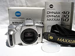 MD) CL) MINOLTA MAXXUM 50 QD BODY