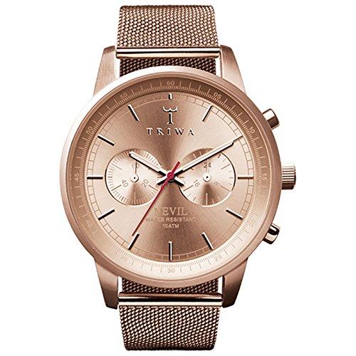 TRIWA Watch - Nevil - Rose Steel