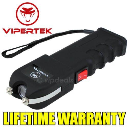 VIPERTEK VTS-989 - 230 Million Volt Self Defense Stun Gun LED Wholesale Lot (Running Spike Plugs compare prices)