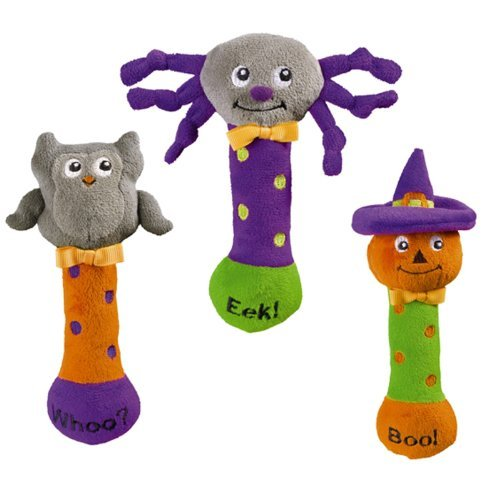 Grasslands Road Bootiful Baby Plush Toy Halloween Squeaker (1 Piece)