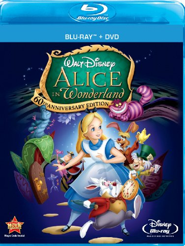 Cover art for  Alice In Wonderland (Two-Disc 60th Anniversary Blu-ray/DVD Combo)