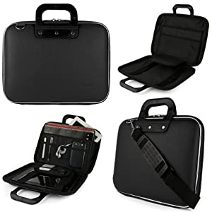 "Black SumacLife Cady Bag Case w/ Shoulder Strap for Dell Venue 11 Pro 10.8"" Tablet at Electronic-Readers.com"