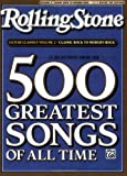 img - for Selections from Rolling Stone Magazine's 500 Greatest Songs of All Time: Guitar Classics Volume 2: Classic Rock to Modern Rock (Easy Guitar TAB) (Rolling Stones Classic Guitar) book / textbook / text book