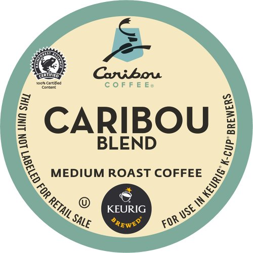 Keurig, Caribou Coffee, Caribou Blend, K-Cup