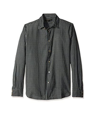 John Varvatos Star USA Men's Long Sleeve Classic Point Shirt