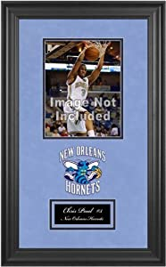 New Orleans Hornets Deluxe 8x10 Team Logo Frame by Mounted Memories