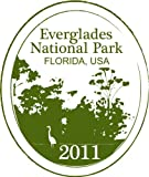 Everglades National Park Florida Usa National Stamp Bumper Sticker Decal 10 x 12 cm