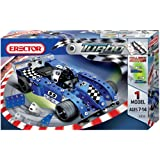 Erector Turbo Evolution Metal Construction Set, Blue