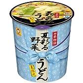 マルちゃん 四季物語夏彩る野菜うどん 81g×12個
