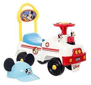 Krankenwagen-Rutschauto mit Micky Maus von Disney