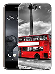"""Humor Gang London Bus Big Ben Printed Designer Mobile Back Cover For """"HTC ONE A9"""" (3D, Matte, Premium Quality Snap On Case)"""