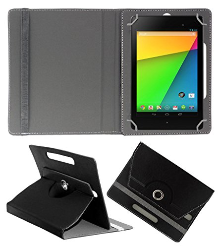 ACM ROTATING 360° LEATHER FLIP CASE FOR ASUS GOOGLE NEXUS 7 FHD 2013 TABLET STAND COVER HOLDER BLACK  available at amazon for Rs.149