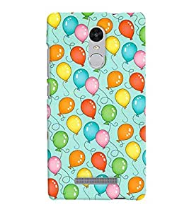 Xiaomi Redmi Note 3 MULTICOLOR PRINTED BACK COVER FROM GADGET LOOKS