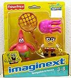 Imaginext, SpongeBob Squarepants, Exclusive Figures, SpongeBob & Patrick, 2-Pack