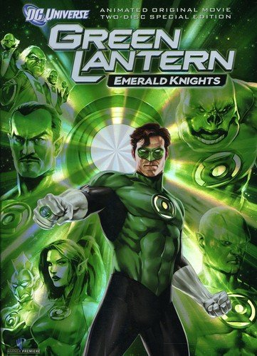 DVD : Green Lantern: Emerald Knights (Special Edition, O-Card Packaging, 2 Disc)