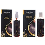 Hair Kare Hair Oil & Anti-Hair Fall Shampoo, 100ml (Pack Of 2)