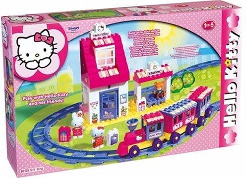 BIG 57011 – Play-BIG-Bloxx Bahnhof Hello-Kitty jetzt bestellen