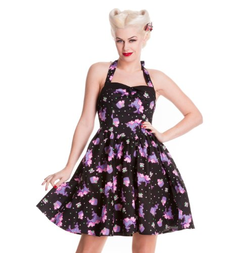 Hell Bunny Alaska Dress XS - UK 8 / EU 36