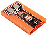 Mattel T9546 – Hot Wheels, Stealth Rides Kettenfahrzeug orange