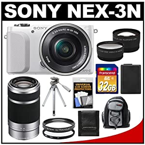 Sony Alpha NEX-3N Digital Camera & 16-50mm Lens