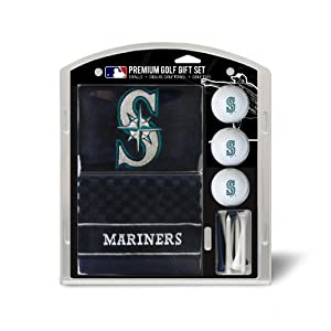 MLB Seattle Mariners Embroidered Towel Gift Set, Navy by Team Golf
