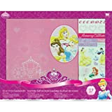 Disney(R) 8 Inch x8 Inch Postbound Album Scrapbook Kit - Princess