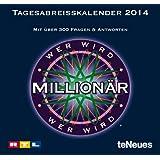 Wer wird Millionär 2014 Tagesabreißkalender: Mit über 300 Fragen & Antworten