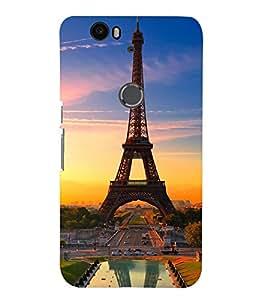 TOUCHNER (TN) Royal Eifil Back Case Cover for Huawei Google Nexus 6P