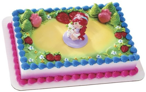 Strawberry Shortcake Best Friends Cake Topper Set