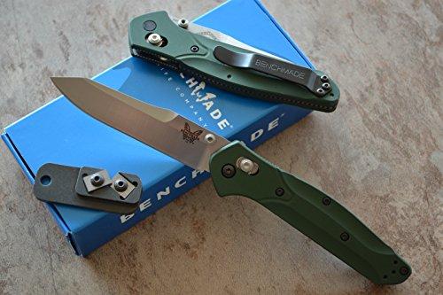 Benchmade 940 Osborne Axis Lock Knife W/ Free Benchmade Mini Sharpener