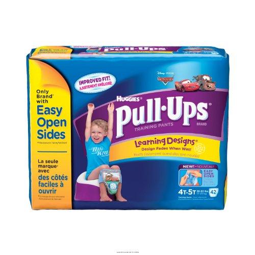 Huggies Pull-Ups - Training Pants [Huggies Pullup Trnpnt B 4T-5T] front-22538