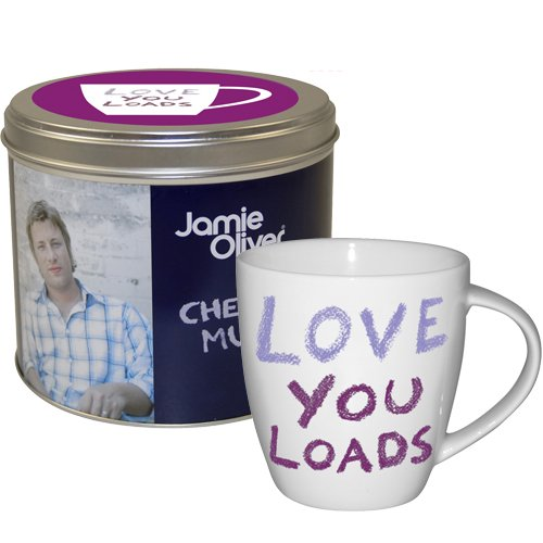 Jamie Oliver Love you Loads Mug in Tin