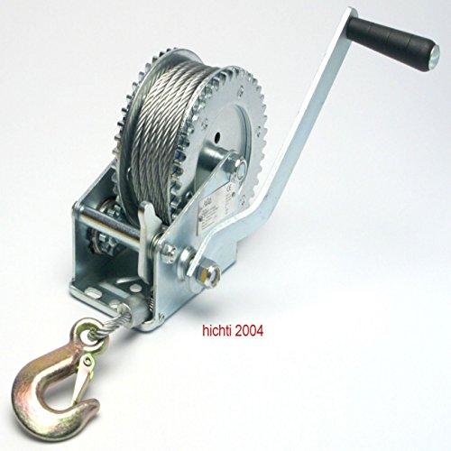 Seilwinde-Handwinde-Bootswinde-bis-800-kg-Last-mechanisch-mit-10-m-Stahlseil-und-Haken-10-Jahre-Garantie