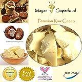 Bulk 4 LBS Truly Raw Cocoa Butter (Unrefined, Unbleached & Non-Deodorized)