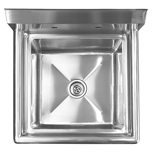 ... Stainless Steel Commercial Kitchen Prep & Utility Sink - 23.5 in. Wide