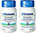 Life Extension - European Leg Solution Featuring Certified Diosmin 95 - 600 Mg - 30 Vtabs (Pack of 2)