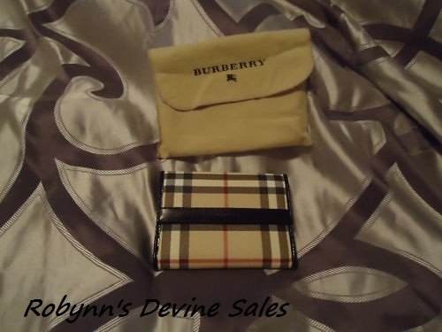 Burberry Nova Check Womens Wallet
