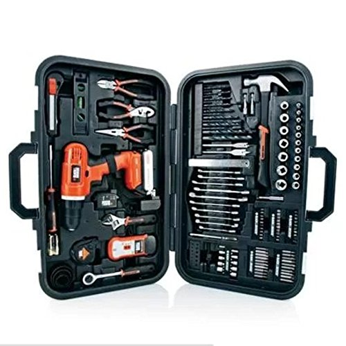 Black & Decker 20-volt Lithium Drill and 133-pieces Home Project Kit, Ld120pk (133 Black And Decker compare prices)