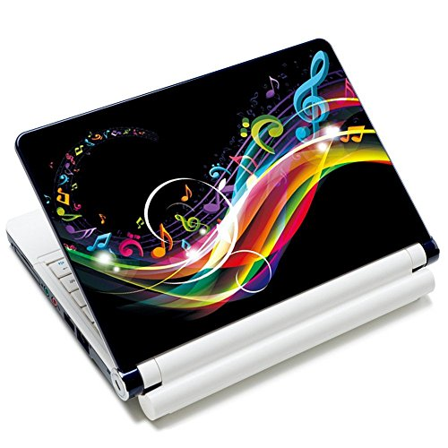 Meffort Inc 17 17.3 inch Laptop Skin Sticker Cover Art Decal Fits 16
