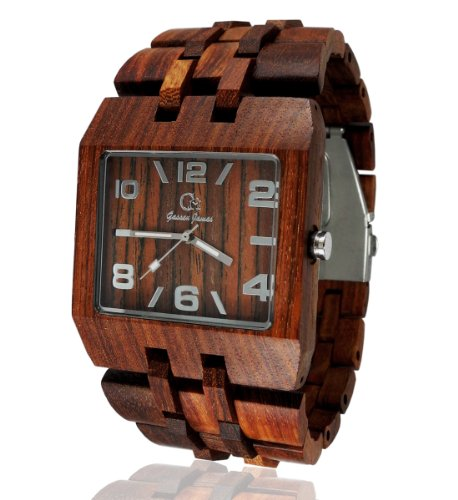 Wooden Watch by Gassen James - Omega I Rose Wood