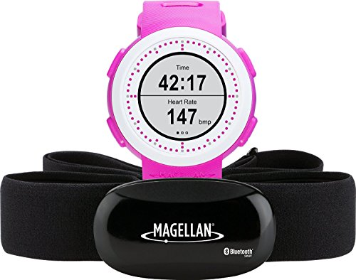 Magellan TW0204SGHNA Echo Fit Smart Sports Watch with Activity Sleep Tracking and Heart Rate Monitor-Bluetooth Smart (Pink)