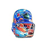 Disney Planes Piston Peak Fire and Rescue Backpack with Detachable Insulated Lunch Kit