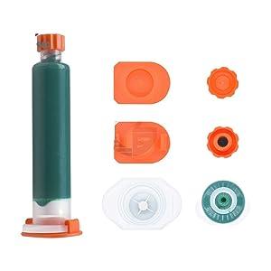 10Ml Green UV Solder Mast BGA PCB Repair Paint Prevent Corrosive Arcing Soldering Paste Welding Flux PCB UV Photosensitive Inks
