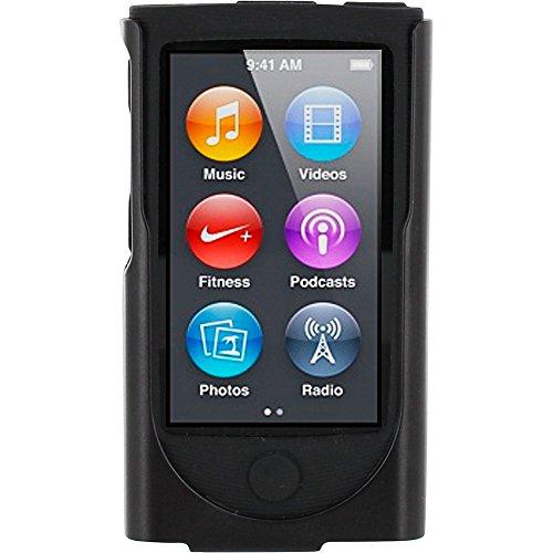 rooCASE Hybrid Case for Apple iPod Nano 7 (Black) (Ipod Nano Clip 7th Generation compare prices)