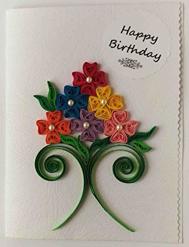 Card In Colour Handmade Happy Birthday Greeting250 Rs Mrp 300