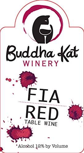 Nv Buddha Kat Winery Fia Red Table Wine 750 Ml
