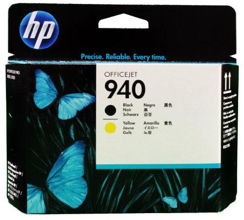 HP C4900A Testina di Stampa 940, Nero/Giallo