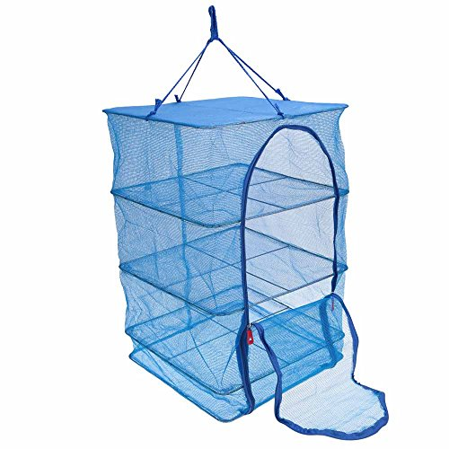 joyooo-4-layers-drying-net-durable-drying-rack-folding-hanging-vegetable-fish-dishes-dryer-net-dry-r